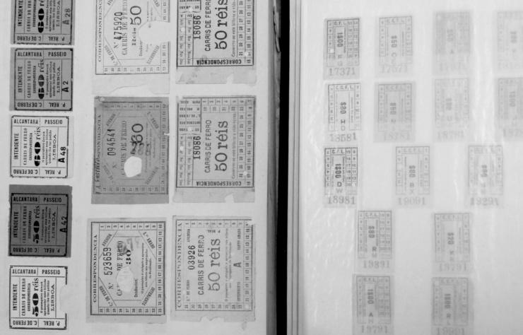 Bilhetes coleção
